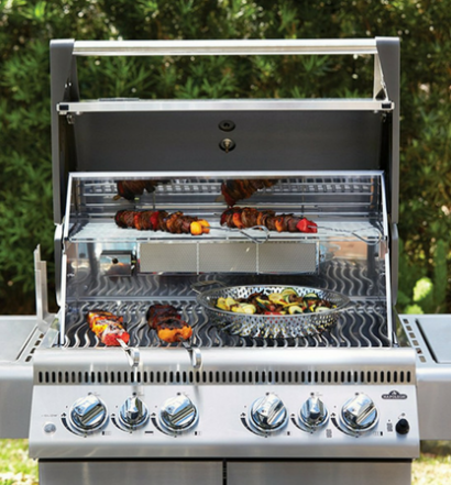 Napoleon LEX485RSIBNSS-1 Infrared Side & Rear Burners Grill