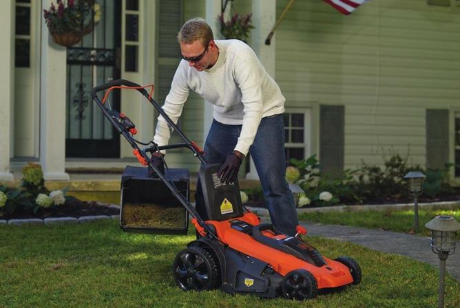 Black+Decker CM2040 40V Lithium 3-in-1 20 Inch Cordless Lawn Mower