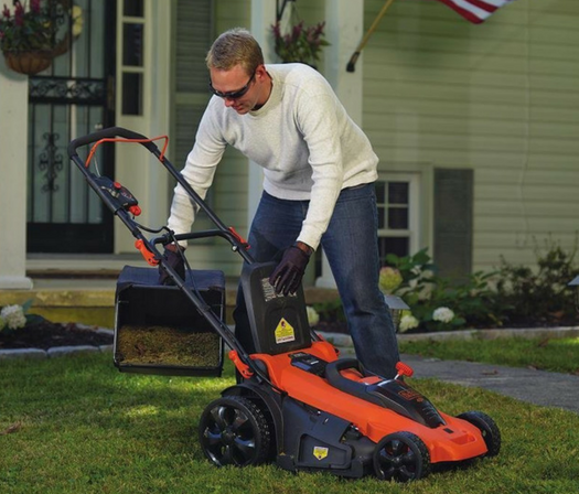 Black+Decker CM2040 40V Lithium 3-in-1 20 Inch Cordless Lawn Mower