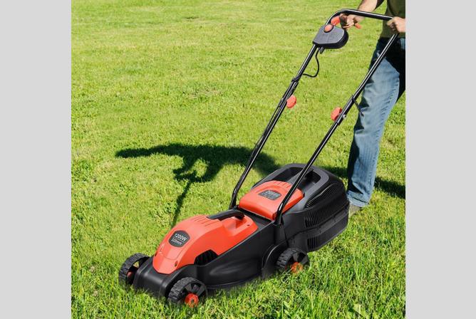 Goplus 14 Inch 12 Amp Lawn Mower