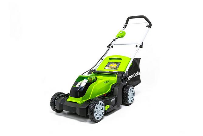 Greenworks 17 Inch 40 Volt Cordless Lawn Mower