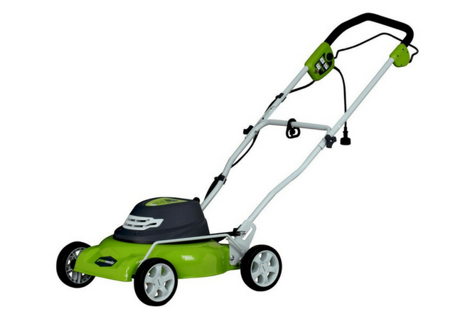 Greenworks 18 Inch 12 Amp Corded Lawn Mower 25012