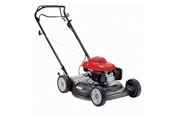 Honda 21 Inch Side Discharge Gas Self Propelled Lawn Mower