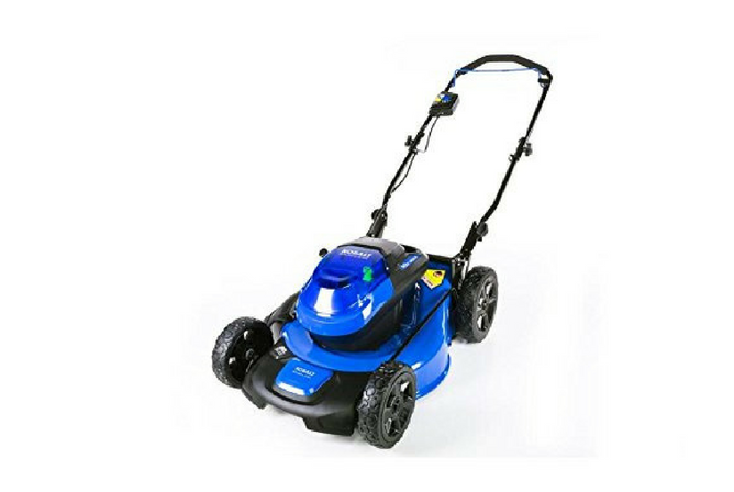 Kobalt 40V Brushless Lithium Ion 20 Inch Cordless Electric Lawn Mower