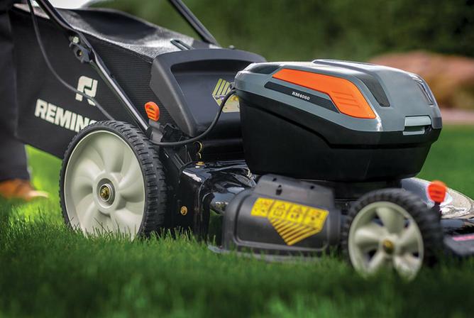 Remington RM4060 40V 21 Inch Cordless Push Lawn Mower